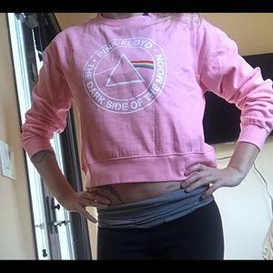 NWT‼️ Pink Floyd cropped sweatshirt!